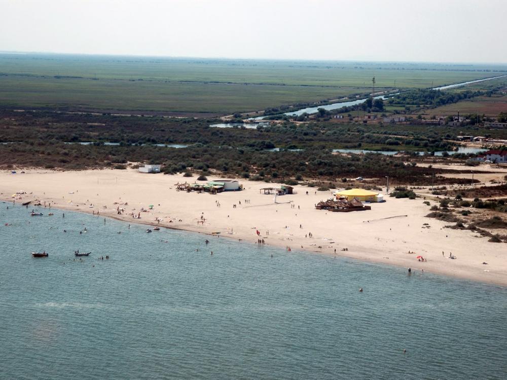 plaja Sulina din delta dunarii