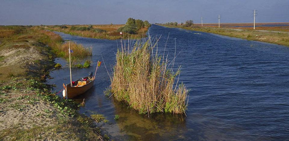 pescuit la stiuca pe canal tatarul